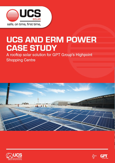 UCS Solar Case Study Highpoint Shopping Centre